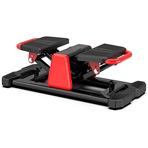 Afang Mini Stepper Cardio Fitness, Máquinas Step Fitness Piernas Cintura, Apto Principiantes Swing Stepper Paso Torcer Aptitud Fitness Entrenamiento