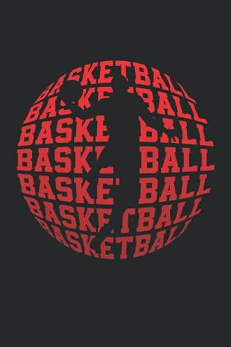 Baloncesto: Cuaderno de rayas cuaderno de escritura diario libro de tareas libro de cuentos (15,24 x 22,86 cm; ca. A5) 120 páginas. Para los amantes ... dunk slamdunk equipo de baloncesto.
