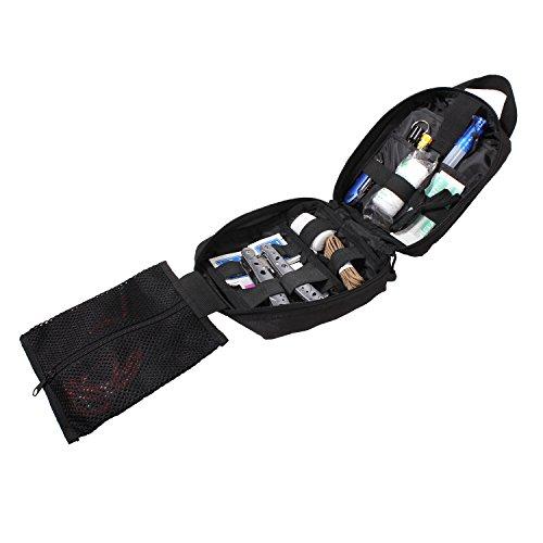Rothco Taktisch Notfall-Kit Breakaway Tasche (Schwarz)