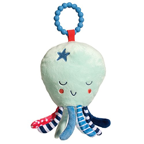 Douglas Baby Octopus Teether Plush Stuffed Animal Toy -  Douglas Cuddle Toys, 6370