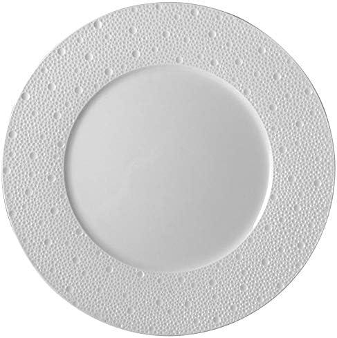 Bernardaud Ecume quality assurance White Dinner Plate Regular store 10.5
