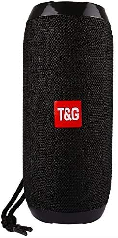 TG117 Portable Bluetooth Speaker (Black) Waterproof by RMJV