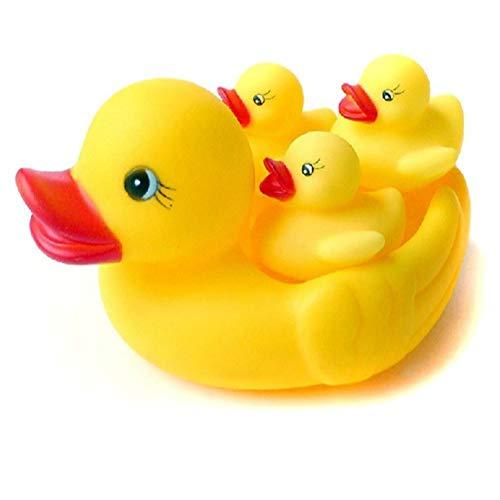 FILWO Baby Badeenten Gelbe Enten für Bad Sound Klassiker unter den Entchen Badeente Quietscheente Badewannenspielzeug