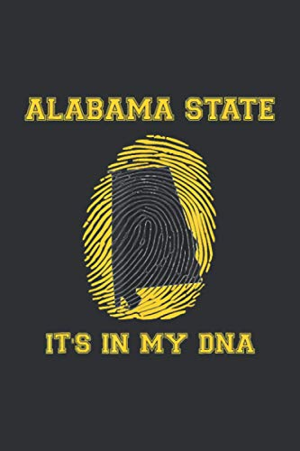 Alabama State It's In My DNA (Daily Fitness Journal): Texas Daily Fitness Journal, Delaware Daily Fitness Journal