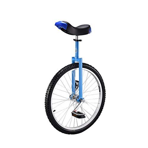 DC les Monociclos Carretilla, Monociclo Deportivo para Adultos de 24 Pulgadas para niños, Acrobacias, Bicicleta de Equilibrio para una Sola Aptitud (2 Opciones de Color) (Color : A)