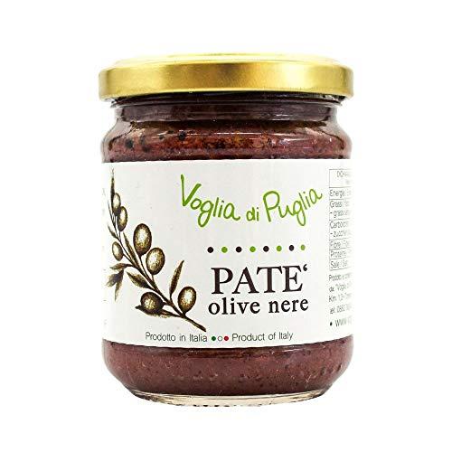Voglia Di Puglia Pate Di Olive Nere In Olio Extravergine D'oliva 190g