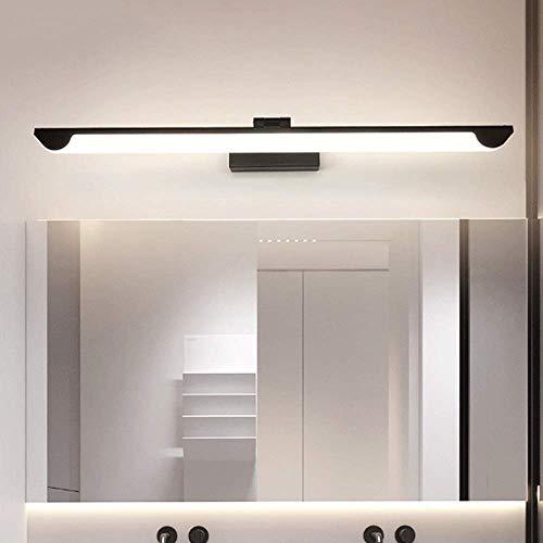 KMMK Novità Lampade da parete, Luci da specchio a Led, Apparecchi di illuminazione da toeletta impermeabili, Lampada da specchio per bagno regolabile a 180 °, Luce per quadro anti-appannamento, Lampa