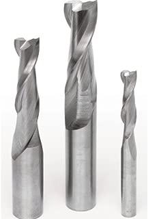 MLCS 200 Solid Carbide Spiral Upcut Bit Starter Set, 3-Piece