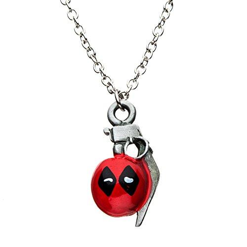Body Vibe Marvel Deadpool Granate Anhänger Halskette
