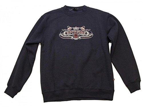 Spitfire Skateboard Sweater Blue, Grösse:L