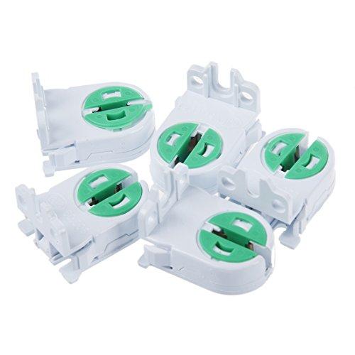 Quata 5 unidades T5 portalámparas portalámparas tubo accesorio lámpara prueba de envejecimiento...