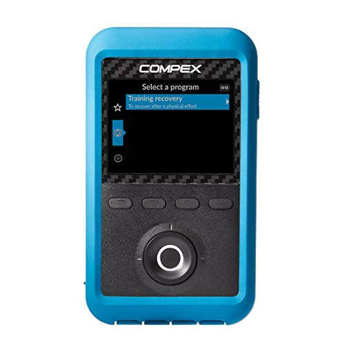 Compex Edge 3.0 Muscle Stimulator with TENS Kit – 4 Programs – Helps facilitate and Improve Muscle Performance