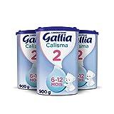 Laboratoire Gallia Calisma 2, Lait en poudre pour bébé, Dès 6 Mois...