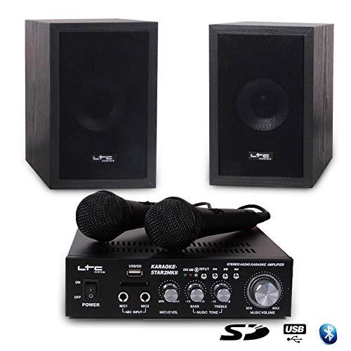 Karaoke Standtoilette LTC star2-mkii für Kinder 100W USB/SD/Bluetooth