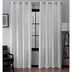 Exclusive Home Loha Linen Window Curtains