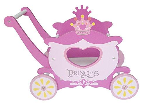 Kiddi Style rello a Forma di Carrozza da Principessa per bambini in Legno
