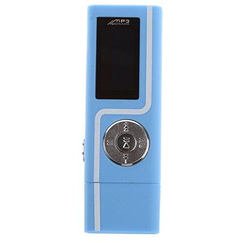 #N/A Tragbarer Musik-Player/E-Book-Player/FM-Radio/MP3-Player – Blau 4 GB