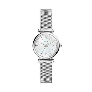 scheda fossil orologio analogico quarzo donna con cinturino in acciaio inox es4432