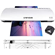 Crenova 13 Inches Laminator A3 with 20 Laminating Pouches, Paper Trimmer, Corner Rounder