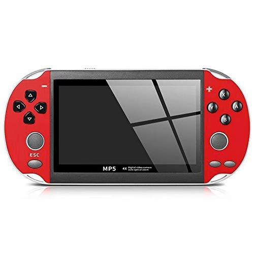 Zero starting point Arcade Classique, Manette du Contrôleur De Jeu, Wireless Bluetooth Gamepad, Gamepad Controller, PS4 Jeu Controleur, Jeu Aucune Latence pour Windows Android Macos Steam,Rouge