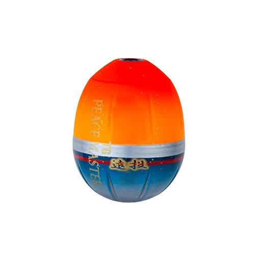 DUEL(デュエル) フカセウキ TGピースマスター 遠投 M 1.0 SO 自重:7.0g G1347-SO-シャイニングオレンジ 磯釣り