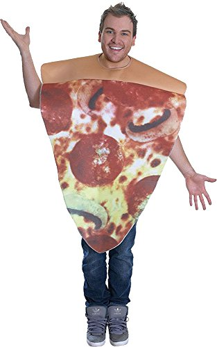 Unisex Adults Pizza Costume by Bristol Novelties