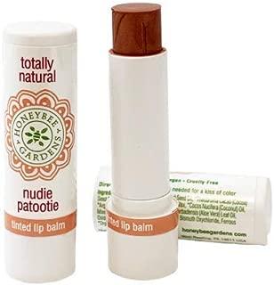 Honeybee Gardens Tinted Lip Balm (Nudie Patootie) | Organic, Vegan, Gluten Free