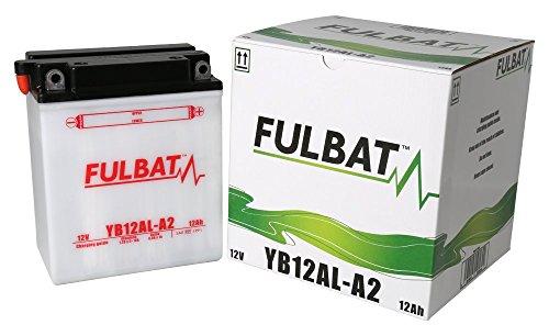 Preisvergleich Produktbild Batterie FULBAT YB12AL-A2 12V 12Ah 165A Länge: 134 x Breite: 80 x Höhe: 160 (mm)