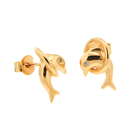 Bijoux para todos – Pendientes de aro para mujer – Latón – 1200828