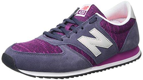 New Balance Women's WL420KIE-420 Training Running Shoes, Multicolor (Purple/Pink 511), 5 UK 37 1/2 EU