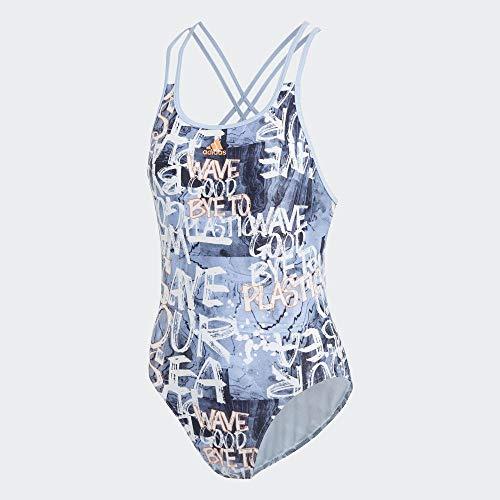 adidas Performance Damen Badeanzug Parley Fitness hellblau (299) 34