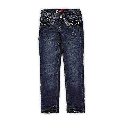 Blue Rebel Mädchen Skinny Jeans Emerald Rebel Wash, Blau, Größe 170