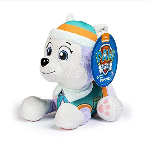 Wuawtyli Paw Patrol Toys Dog 20cm Plush Doll Anime Kids Toys Action Figure Model Stuffed and Plush Animals Toy paw Patrol Birthday Gift (Color : Everest)