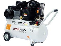 Power Station Compressor SW 455 / 10 - 10 Bar - 50 liter boiler