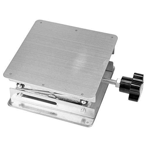 Laboratory jack, roestvrij staal laboratorium krik Scissor Rack 100 * 100 * 150mm,Silver