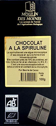 CHOCOLAT SPIRULINE 100G