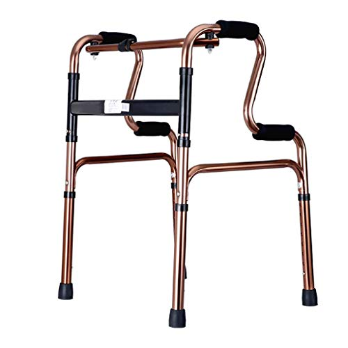 WEI-LUONG Marco de Caminar Walker cuadrúpedos Caminar Ancianos acompañados Persona discapacitada Miembro Inferior Formación Rehabilitación Antideslizante bastón con el Hospital