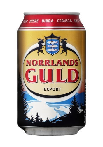 Norrlands Guld Export 5,3% 24x0,33 ltr. inkl. Pfand