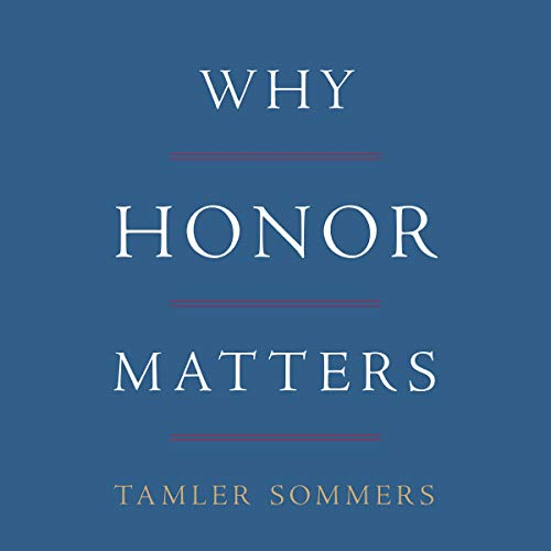 Couverture de Why Honor Matters