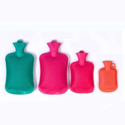 BianchiPatricia 2 Litre Hot Water Bottle Hotwater Natural Rubber Warmer Screw Top Quality