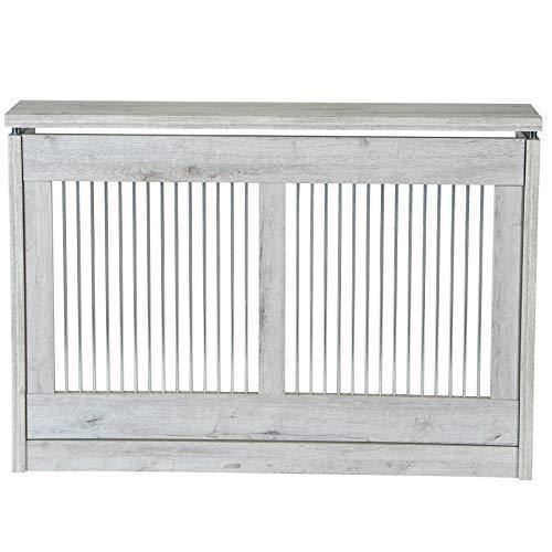 TOP KIT | Cubre radiador Cristian 3120-120 x 84 x 18 | Blanco Mozart