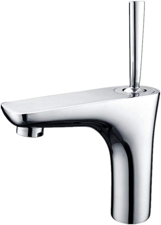 Faucet GJE Traditional Monobloc Tall Basin Mixer Tap Kitchen Bathroom,Cloakroom Single Lever Mono Basin Mixer Tap (Size   H21.8cm)