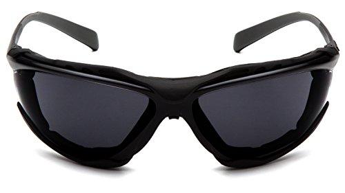 Pyramex Safety sb9323stm proximidad gafas de seguridad, marco negro, lentes gris oscuro, gris lente 🔥
