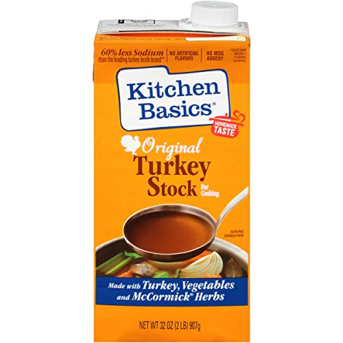 Kitchen Basics Original Turkey Stock, 32 fl oz ( Pack of 12 )