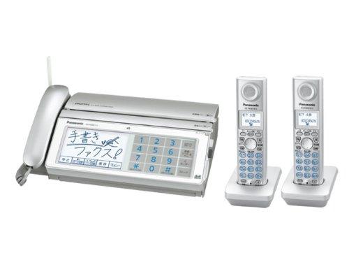 パナソニック デジタルコードレスFAX 子機2台付き シルバー KX-PW821DW-Sの詳細を見る