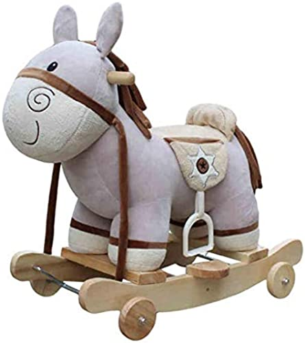 Baby Entdecken & Bewegen Babywippen & -schauke Schaukelpferd Größe Musik Schaukelpferd Holzpferd Pushwagen Schaukelstuhl Babyspielzeug Trojanisches Pferd Schaukelpferd Alter Geschenk