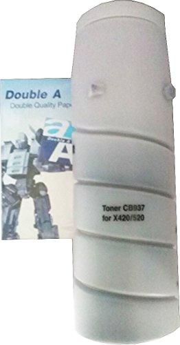 PP Premium Printware Bundle: orig. Agfa Toner CB937, 650g Patrone + DoubleA Haftnotiz-Mäppchen