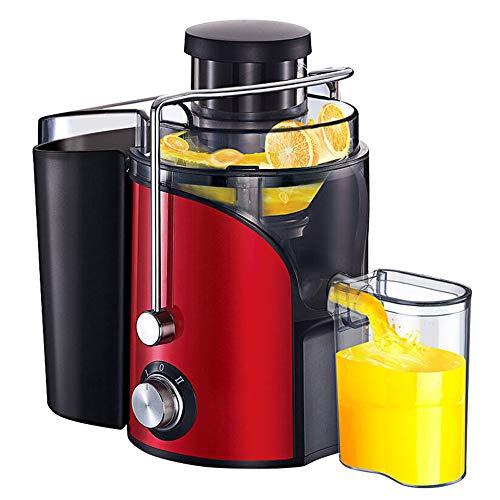Prensado En Frio Licuadoras para Verduras Y Frutas, Máquina De Jugo Slow Juicer Licuadora para Frutas, Verduras, Alimentos,Mayor Rendimiento De Jugo, Motor Silencioso,Fácil De Limpiar,BPA Free
