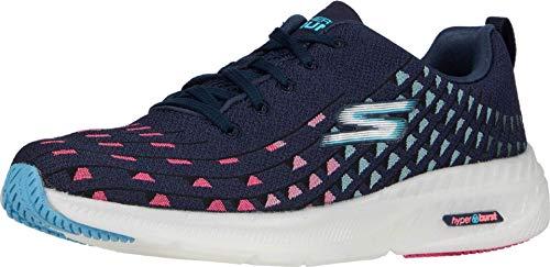 Skechers Zapatillas de mujer, Azul (Azul marino/multicolor), 35 EU