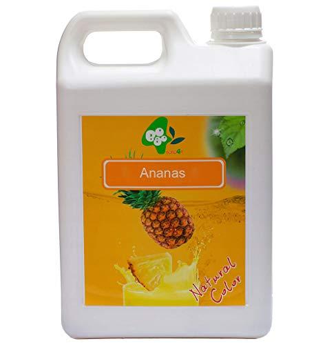 Sirup Sirupe BoboQ Früchte Obst Für Bubble Tea Boba Bobas 2,5kg 1900 ml Ananas